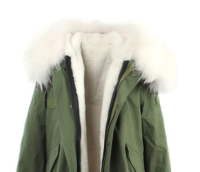 Mix & Match Parka Mix & Match Long Parka-Mix & Match Long Parka- onlyours.de