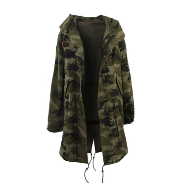 Mix & Match Parka Mix & Match Long Trench Coat-Mix & Match Long Parka- onlyours.de