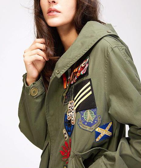 Mix & Match Parka Mix & Match Short Trench Coat-Mix & Match Short Parka- onlyours.de