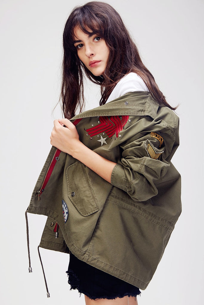 Mix & Match Parka Trench Coat