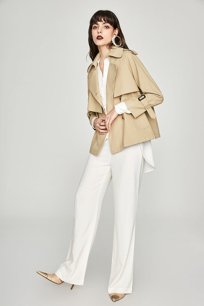 Mix & Match Parka Classic Beige Trench Coat-Trench- onlyours.de