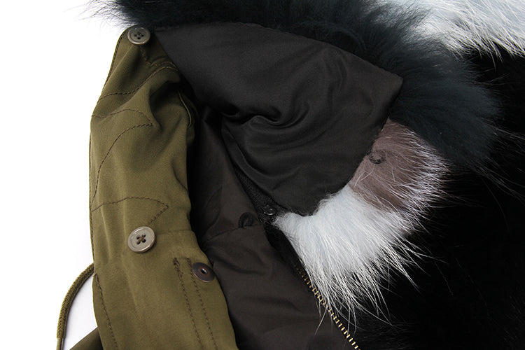 Mix & Match Parka Mix & Match Long Waterproof Parka-Mix & Match Long Parka- onlyours.de
