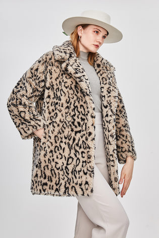 Mix & Match Parka Classic Sheep Fur Teddy Coat-Coat- onlyours.de