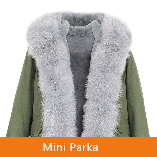 Mix & Match Parka Mix & Match 4-Piece Luxury Short Parka-Mix & Match Short Parka- onlyours.de