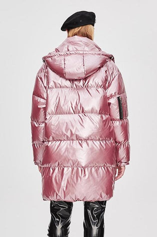 Mix & Match Parka Long Down Jacket-Jacket- onlyours.de