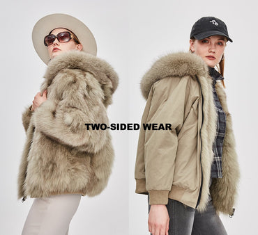 Mix & Match Parka Two-Sided Bomberjacket-Bomberjacket- onlyours.de