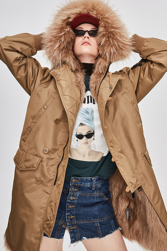 Mix & Match Parka Down Parka Limited Edition-Down Parka- onlyours.de