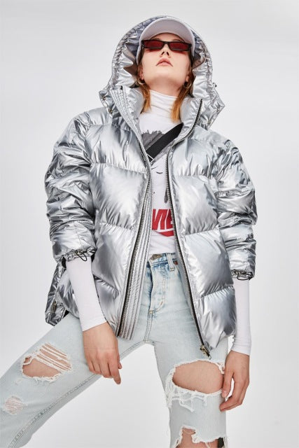 Mix & Match Parka Short Down Jacket-Jacket- onlyours.de