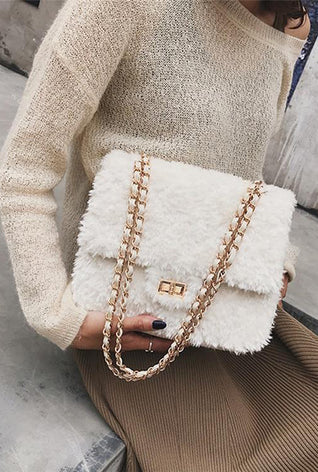 Chloe Crossbody Faux Fur