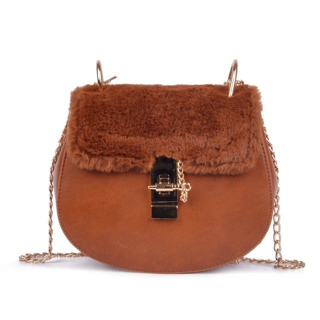 Mix & Match Parka Faux Fur Crossbody IT Bag-Accessoires- onlyours.de