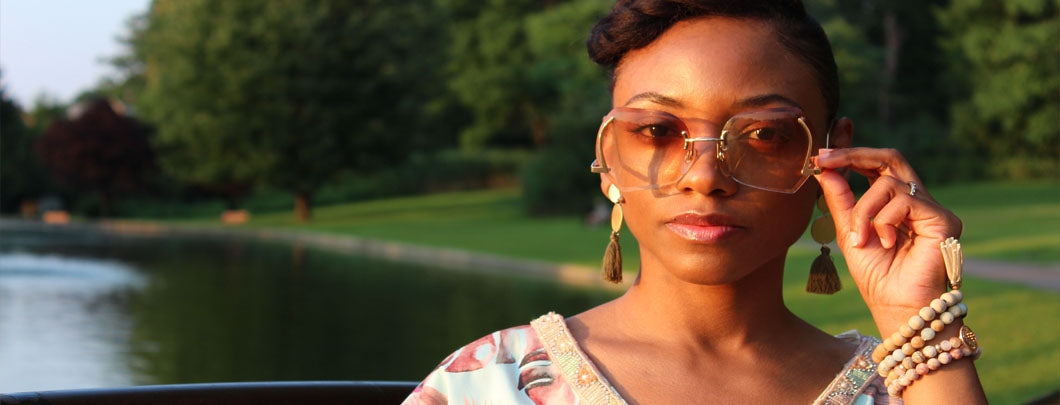 Foxy Brown Vintage Sunglasses stackable Bracelets
