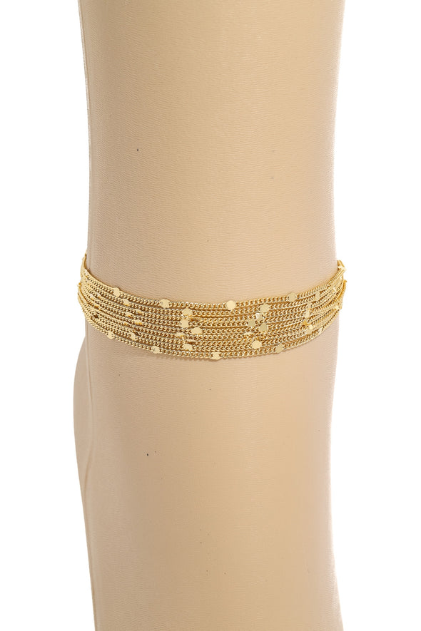 Dainty Layered Ankle Bracelet