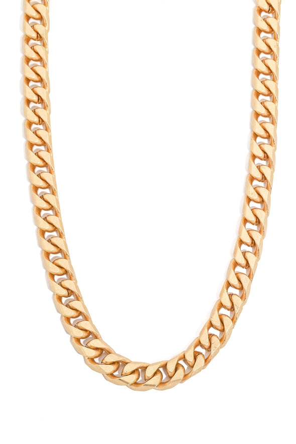 Cuban Link Ring Lock Necklace