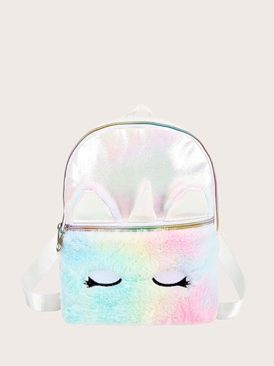 Unicorn Fluffy Mini Bag