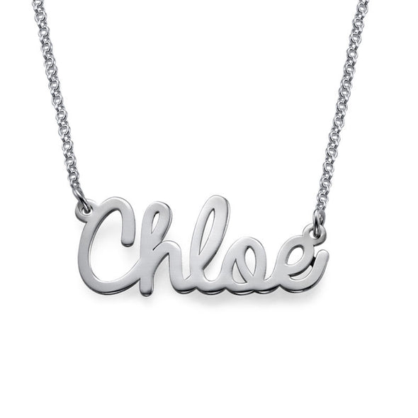 Cursive  Custom Name Necklace