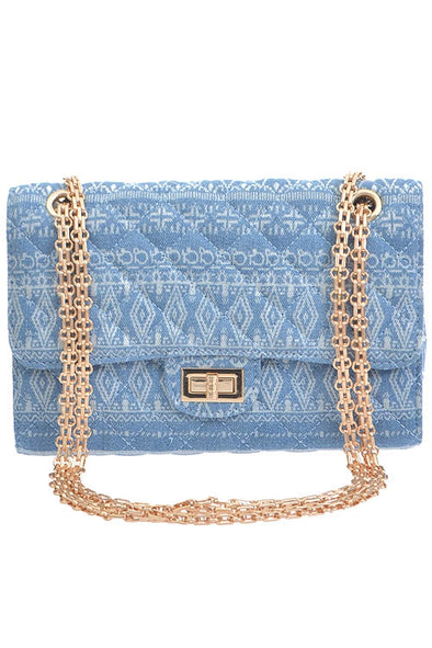 Aztec Pattern Jean Bag