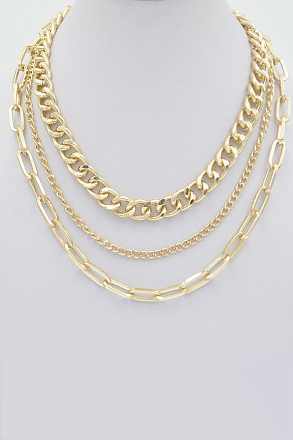 Three Layer Cuban Link Chain