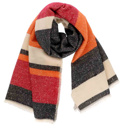 Multi Color Oblong Scarf