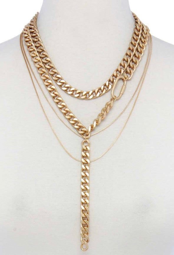 Layered Cuban Link