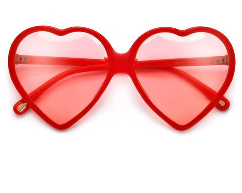 Diamond Heart Sunglasses