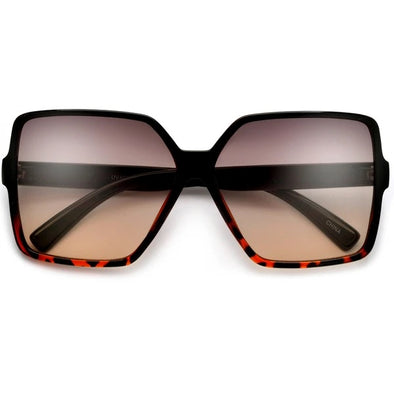Translucent Oversized Sunglasses