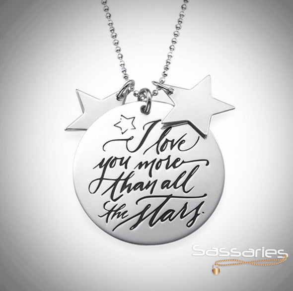 I love you more than all the Stars Necklace
