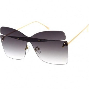 Cut Out Shield Sunglasses