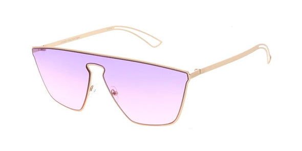 Edgy Etched Sunglasses