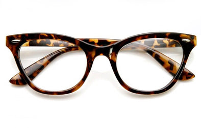 Clear Cat Eye Frames