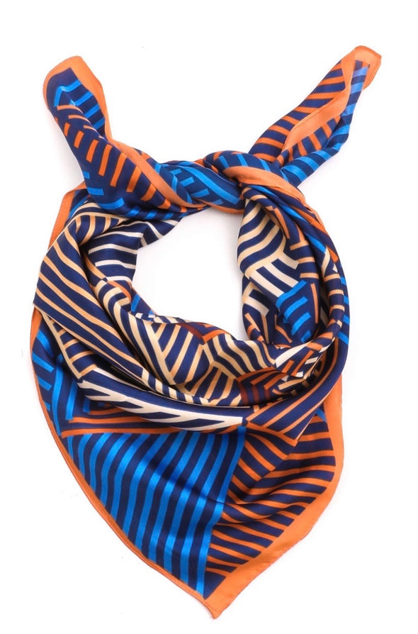 Stripe Pattern Scarf