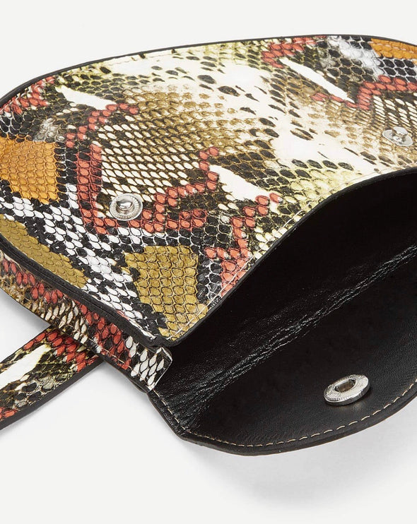Snakeskin Pattern Bum Bag