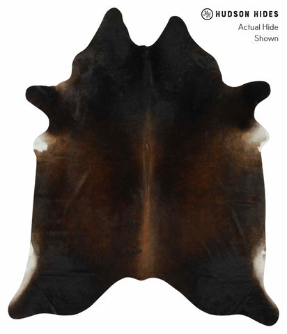 Chocolate Cowhide Rug #12335