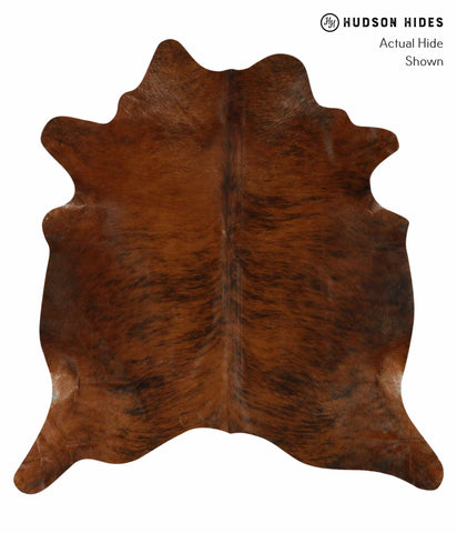 Medium Brindle Cowhide Rug #12370