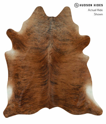 Medium Brindle Cowhide Rug #12380