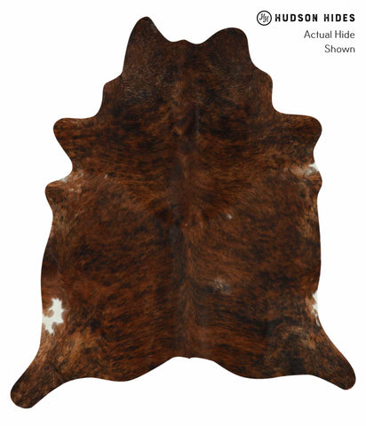 Medium Brindle Cowhide Rug #12382