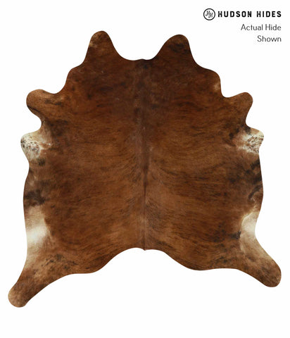 Medium Brindle Cowhide Rug #12489