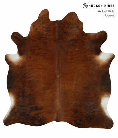 Medium Brindle Cowhide Rug #12593