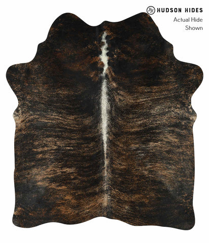 dark brindle Cowhide Rug #15470