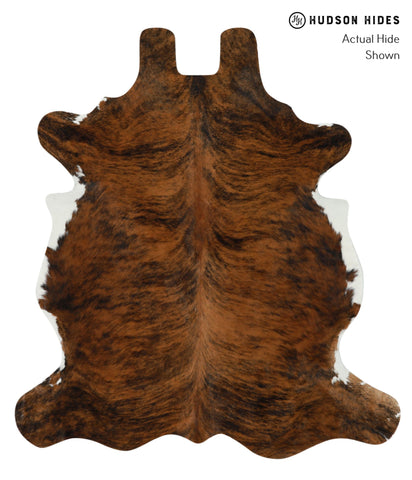 Medium Brindle Cowhide Rug #15927