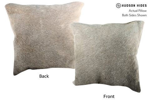 Gris Beige Cowhide Pillow #16996