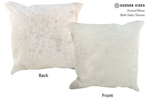 Gris Grey Cowhide Pillow #17021
