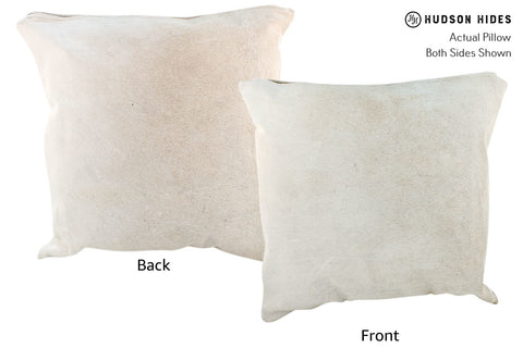 Gris Grey Cowhide Pillow #17074