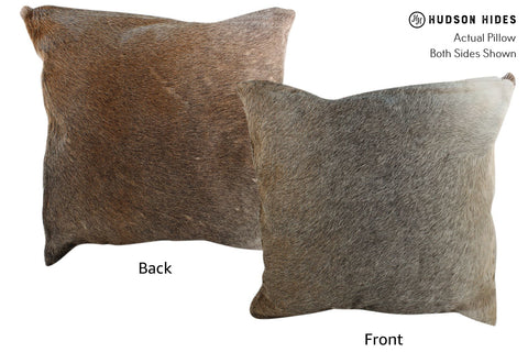 Gris Beige Cowhide Pillow #17078