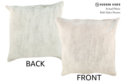 Light Brindle Cowhide Pillow #18887