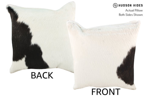 Black and White Cowhide Pillow #19022