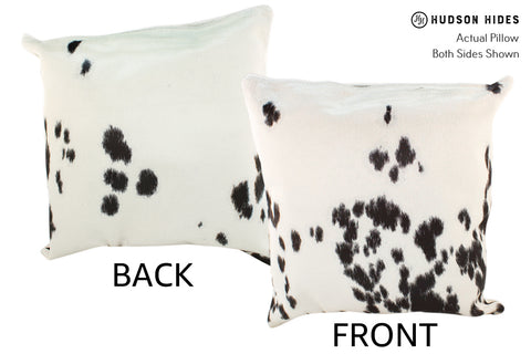 Black and White Cowhide Pillow #19023