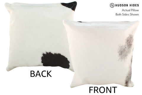 Black and White Cowhide Pillow #19026