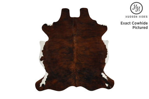 Dark Brindle Cowhide Rug #7203