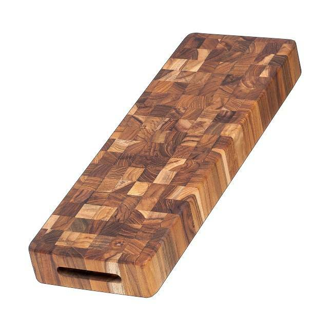 Butcher Block Long Cheese Board Thick 315