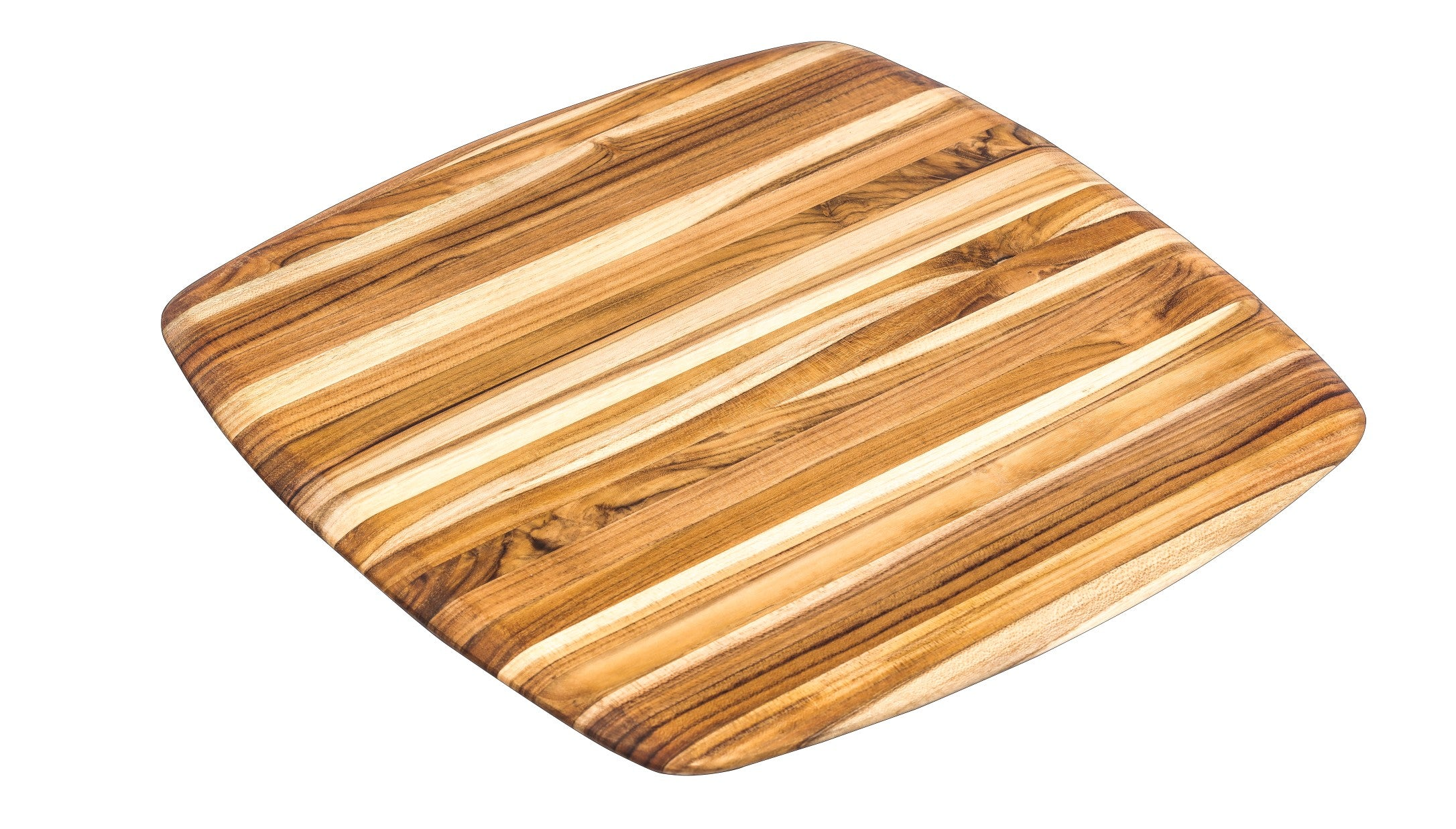 Gently Rounded Edge square Teak board 206
